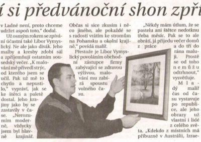 Břeclavský deník 23.12.2006