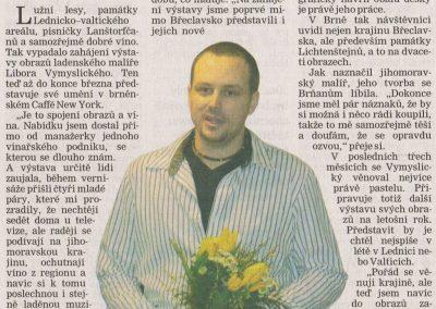 Břeclavský deník 27.ledna 2011