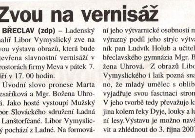 Moravský jih 4.9.2007